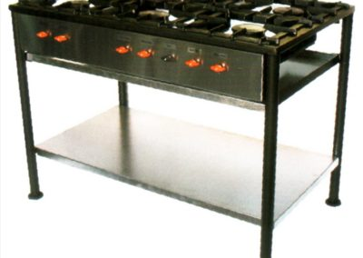 BC604S 6 BURNER DELUXE BOILING TABLE