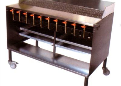 GC306S 10 BURNER CHARCOAL FREE STANDING GRILLER