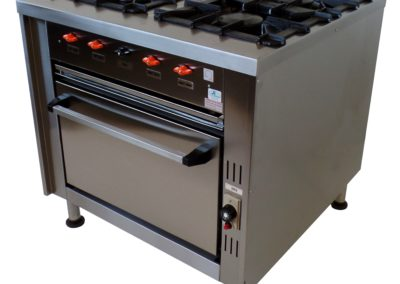 SC591S COOKING RANGE WITH GAS OVEN
