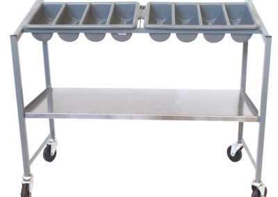 TCTL TRAY AND CUTLERY TROLLEY